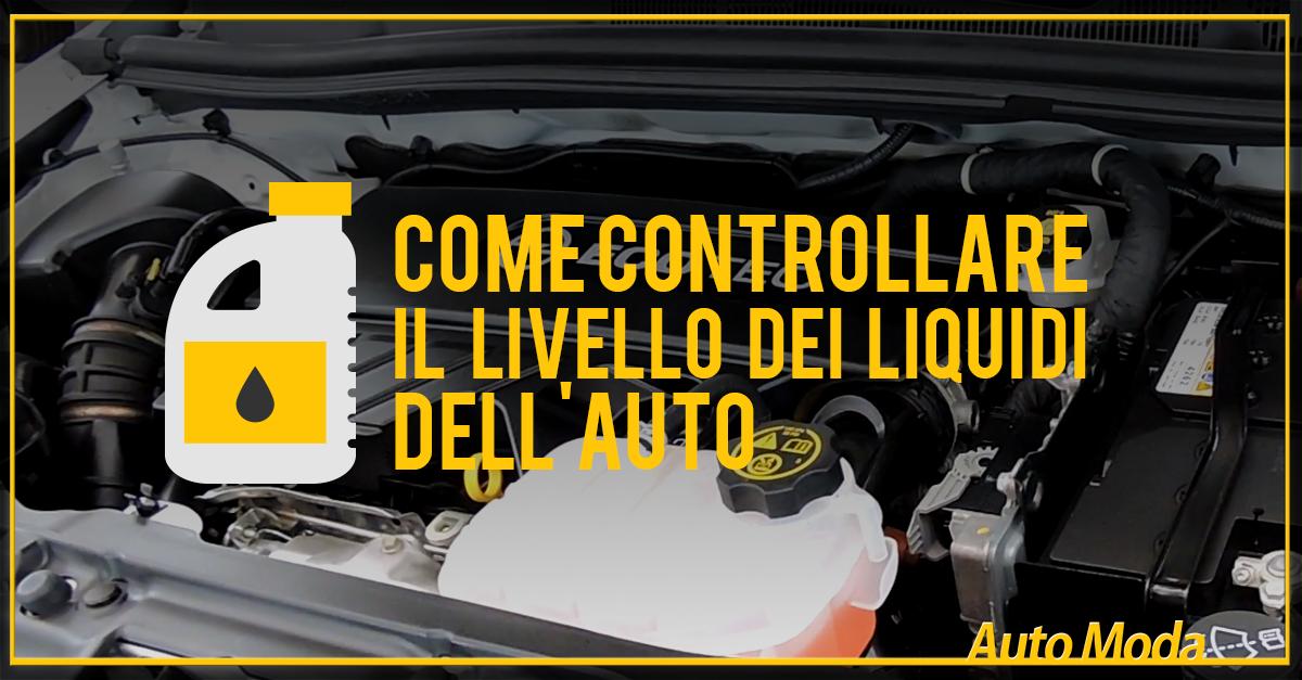 Come-Controllare-il-Livello-dei-Liquidi-dell'Auto